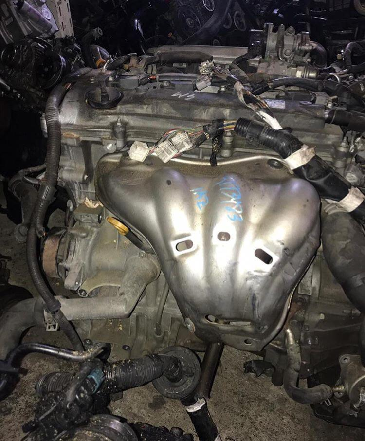 Jdm Toyota 1az-fe Complete Engine With  Transmission
