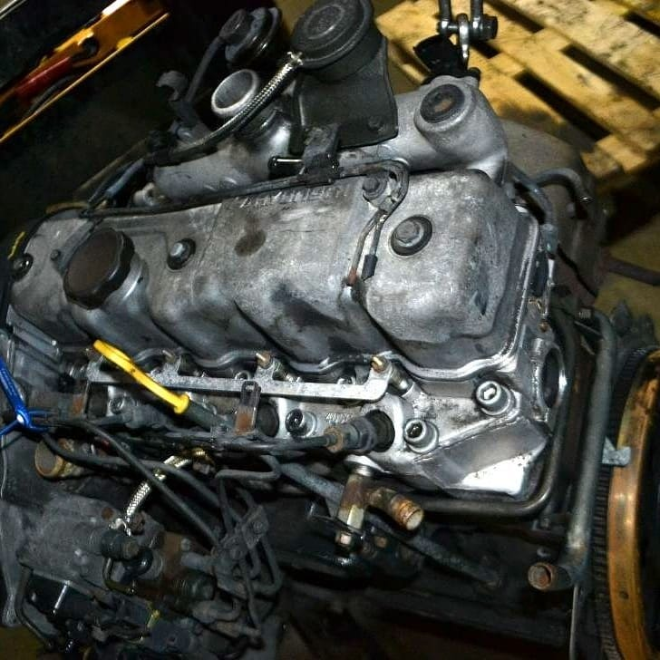 Hyundai D4bh  2 5l  Diesel Complete Engine With